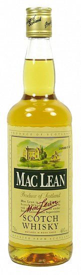 MAC LEAN SCOTCH WHISKY 40% 0,7L