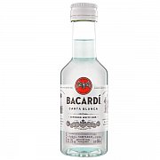 BACARDI CARTA BLANCA MINI 40% 0,05L