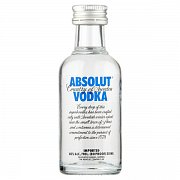 VODKA ABSOLUT MINI 40% 0,05L